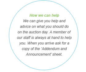 Help Buying Property at Auction